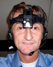 Obsolete Flycamone2 Head Mounted Webcam For The Blind