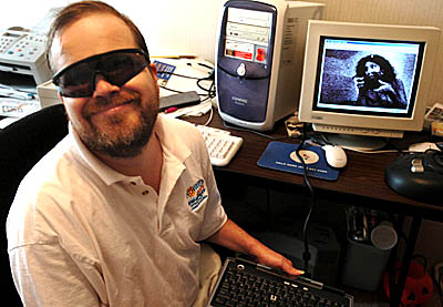 Sound Induced Mental Imagery For The Blind